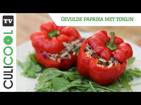 Gevulde paprika met tonijn - CULICOOL
