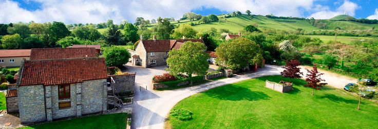 Middlewick Holiday Cottages, Glastonbury, Somerset. Special Offers and Late Availability http://www.organicholidays.com/at/3234.htm