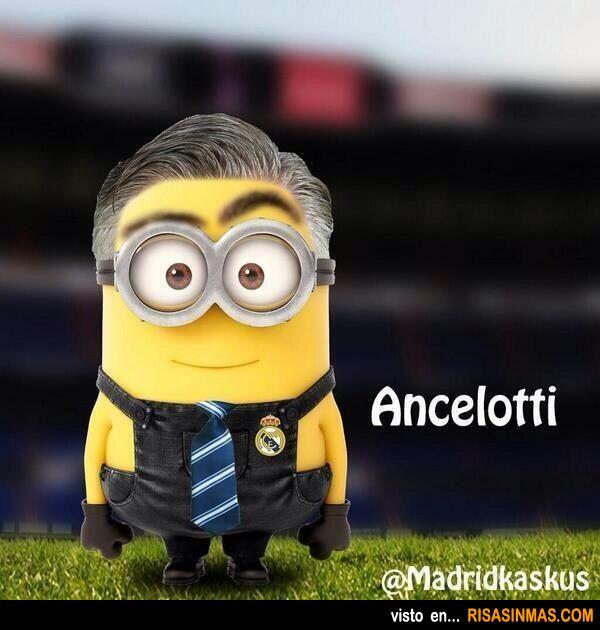 Minion de Carlo Ancelotti.