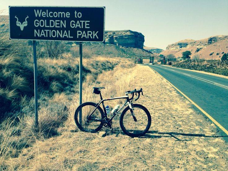 Golden Gate Highlands National Park in Clarens, Orange Free State