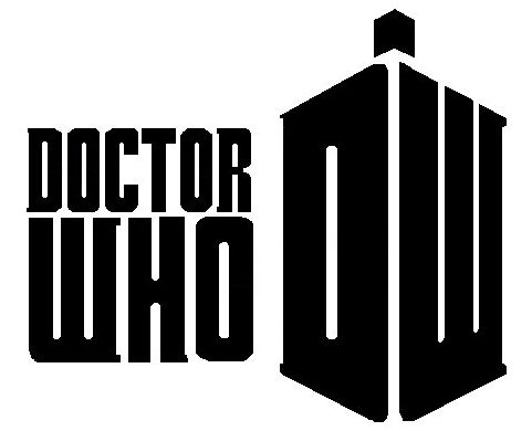 Doctor Who Stencil Silhouette Outline Clipart Mania! | Doctor Who | Doctor who logo, Doctor Who ...