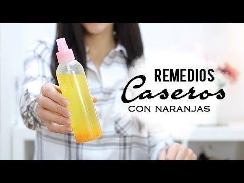 Tratamientos de belleza caseros con naranja. ¡Súper efectivos!