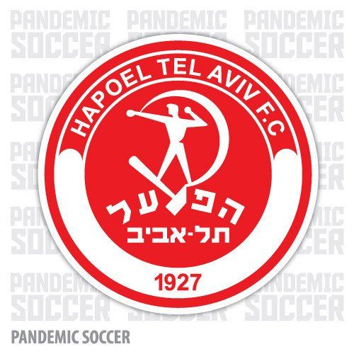 Hapoel Tel Aviv Israel Vinyl Sticker Decal