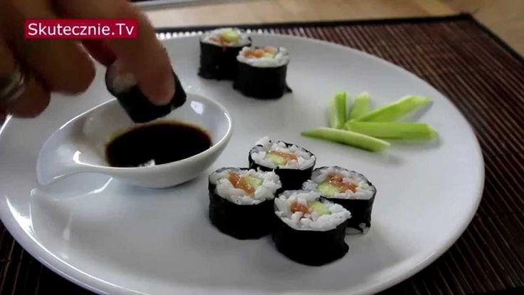 Domowe sushi maki (nawet dla dzieci) :: Skutecznie.Tv [HD]