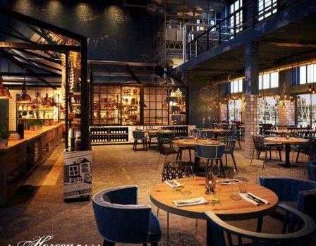 Caballero Fabriek Pub Decor
