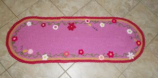 carpet for baby room whit flowers http://plektologio.blogspot.gr/