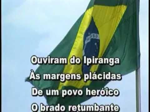 Hino Nacional - com letra HINO NACIONAL BRASILEIRO Música de FRANCISCO MANUEL DA SILVA Letra de JOAQUIM OSÓRIO DUQUE ESTRADA ✿⊱╮