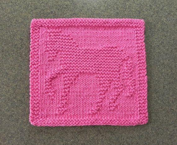 Knit Dishcloth Pattern Horse : uber 1.000 Ideen zu ?Strickmuster Von Waschlappen auf Pinterest? Gestrickte...