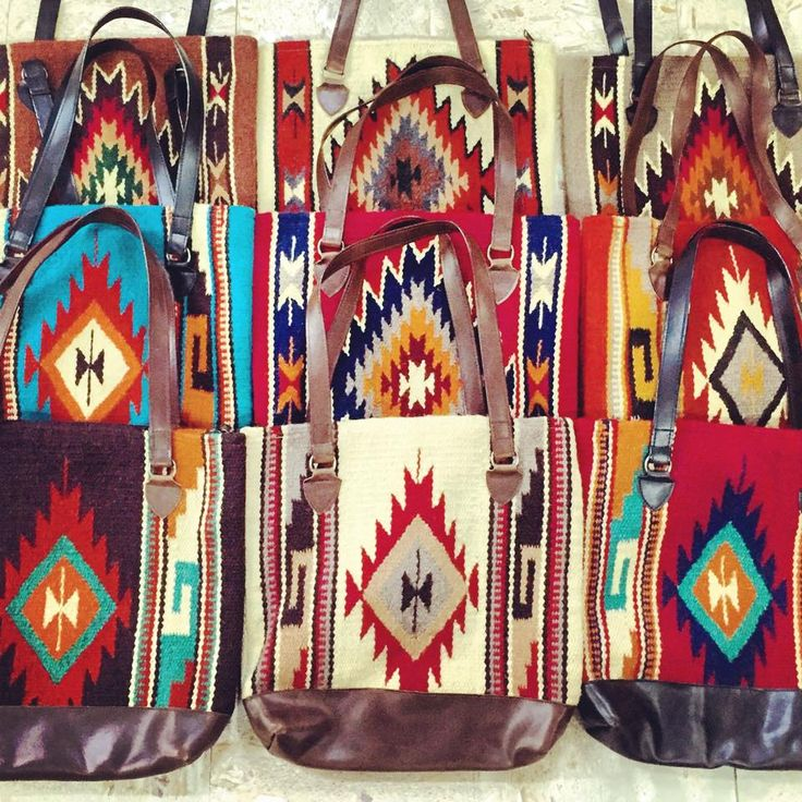 El Paso Saddle Blanket Navajo Purses Facebook.com/ChickElms 254-968-3920 keywords: aztec, south west, southwest, south western, leather, cowgirl, western, accessory, handbag, tote