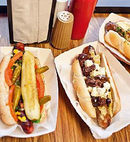 Delish dogs from a Chicago classic.