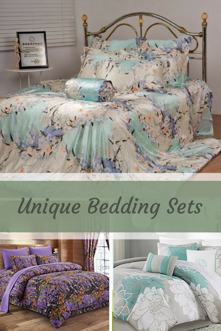 best 25 unique bedding ideas on pinterest cool beds. Black Bedroom Furniture Sets. Home Design Ideas
