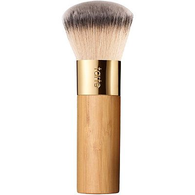 tarte the buffer airbrush finish bamboo foundation brush