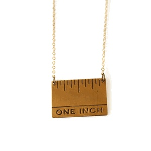 "1"" NecklaceInch #Mystyle, Inch Necklaces, Fun Necklaces, Ruler Necklaces, Inch My Styl, Necklaces 30"