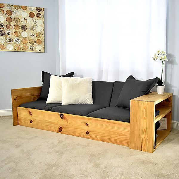 How To Make A Sofa That Turns Into A Bed Twin Full Size Diy