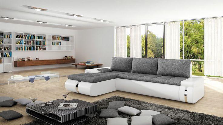Couchgarnitur FADO MINI Couch L Sofa Sofagarnitur Polsterecke Schlaffunktion