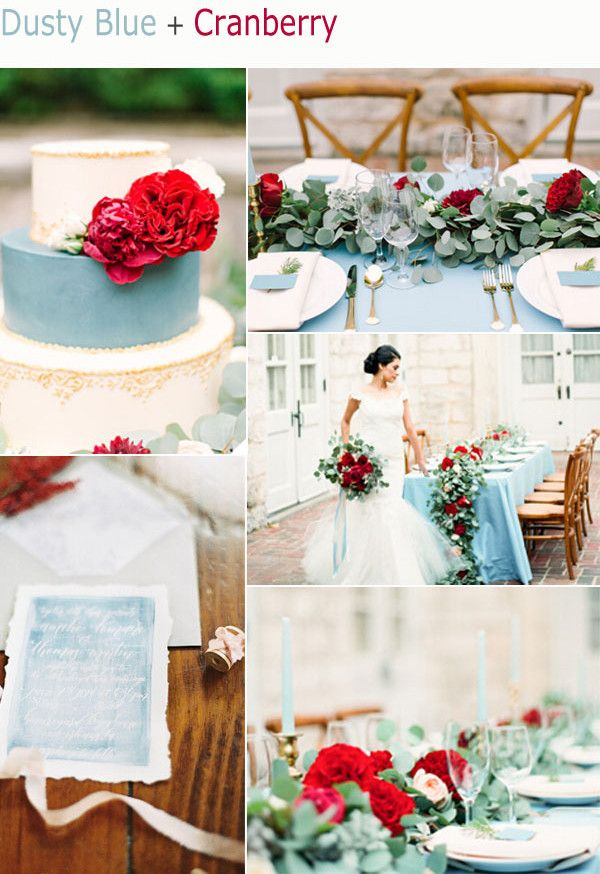 2015 Top 6 Amazing Fall Wedding Color Ideas