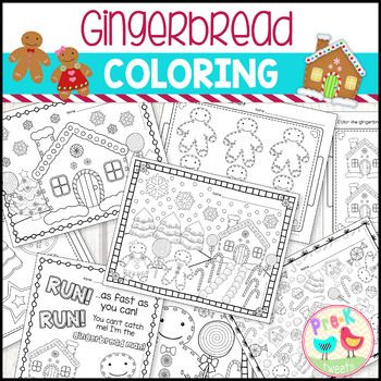 The 25 Best Gingerbread Man Coloring Page Ideas On