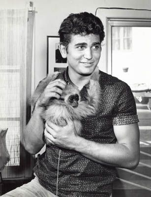 Little Joe withhis pet monkey?!!  Because, really, why not?