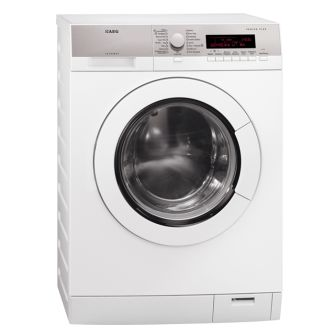 AEG 8kg front load washing machine with OptiSense wash system & 16 wash programs (model L87480FL) for sale at L & M Gold Star (2584 Gold Coast Highway, Mermaid Beach, QLD). Don't see the AEG product that you want on this board? No worries, we can order it in for you!