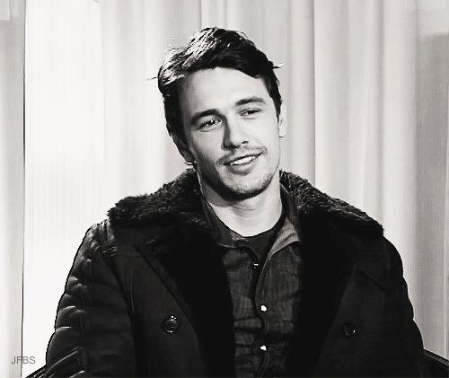 James Franco. I'm in love with this.