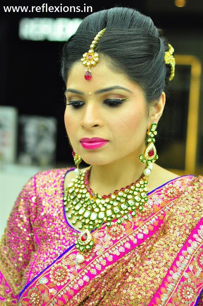 #bridalmakeupservice #makeupservice #makeupsurat #makeupvadodara #reflexions - www.reflexions.in