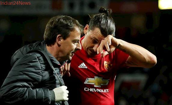 Zlatan Ibrahimovic suffers 'significant knee ligament damage'