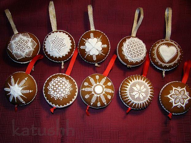 Gingerbread flask/ornaments