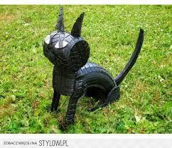 Znalezione obrazy dla zapytania kot z opony