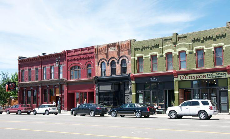 Corktown   Detroit's oldest neighborhood.