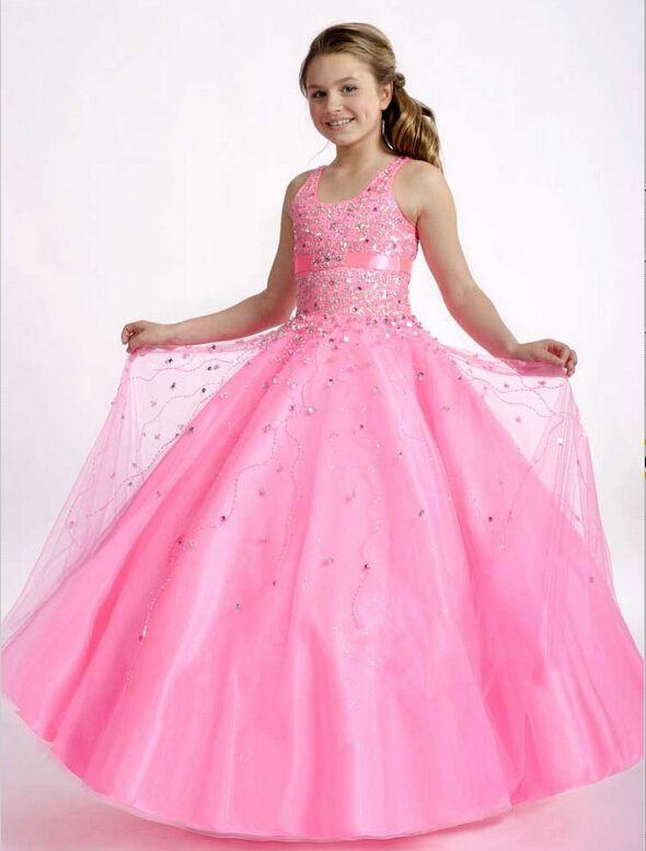 26 best Pageant Dresses images on Pinterest | Flower girls, Flower ...