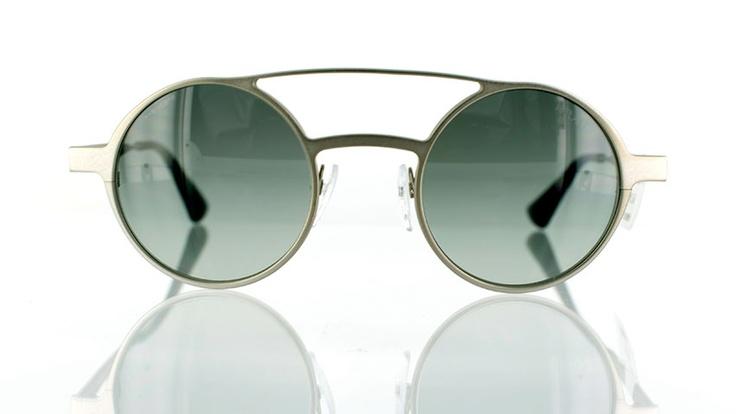 "Prada SPR 69OS : Designer round sunglasses - find this Great ""Glassby"" look at Goo Goo Eyes | http://googooeyes.com"