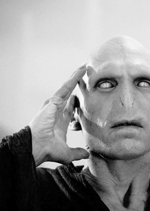 Lord Voldemort (from Harry Potter & the Goblet of Fire, 2005) Portrayed by Ralph Fiennes.
