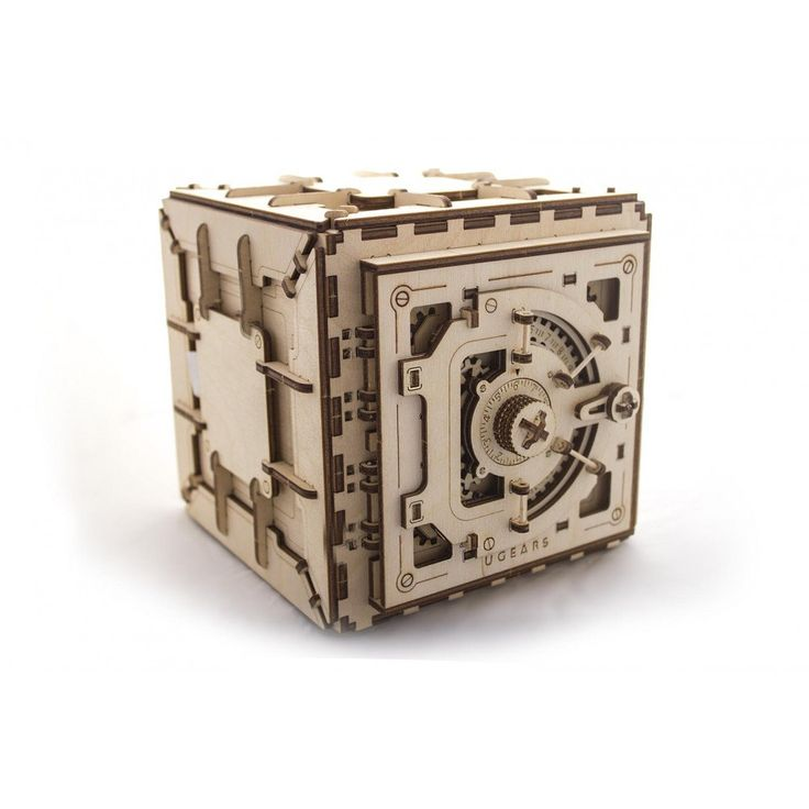 Mechanical 3D Safe puzzle by UkraineCrafts on Etsy