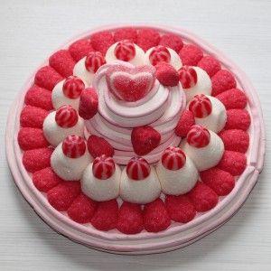 Tarte aux fraises en bonbon