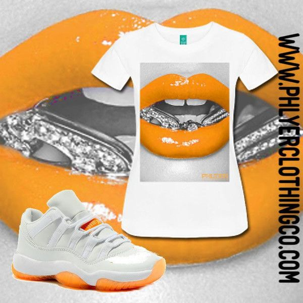 Air Jordan Retro Citris Low 11'S Phlyer Edition ($35) ❤ liked on Polyvore  featuring