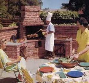 25 best ideas about brick bbq on pinterest brick grill for Deep pit bbq construction