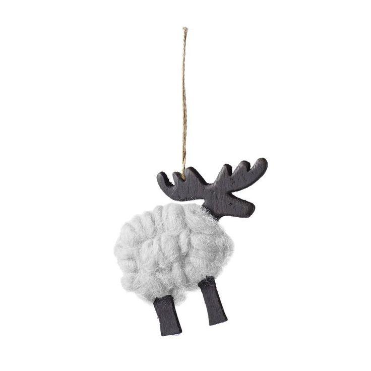 I serien wool har Bolia design team samlet noen av julas mest klassiske kjennetegn, som reinsdyr, stjerne, hjerte og juletre. Disse er pakket inn i myk ull og kan pynte selv de mest minimalistiske hjem til jul.