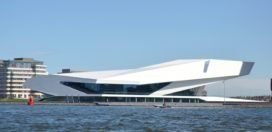 Eye museum van Roman Delugan en Elke Delugan-Meissl. Dit gebouw staat in amsterdam. Dit gebouw speekt mij aan door de vormen en hoe de ramen zijn verwerkt. Van een afstand lijkt het gewoon een wit gebouw maar als je dichterbij komt zie je dat er een patroon op het gebouw zit. Er zijn heel veel verschillende vormen in het gebouw verwerkt.http://www.dearchitect.nl/projecten/eye-filmmuseum-amsterdam