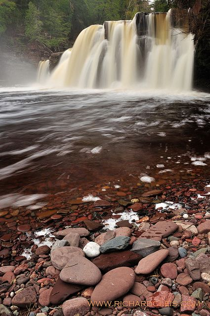 Manabezho Falls, Upper Peninsula of Michigan