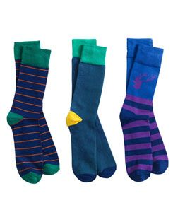 BAMBOO3PKM Mens Sock 3 Pack