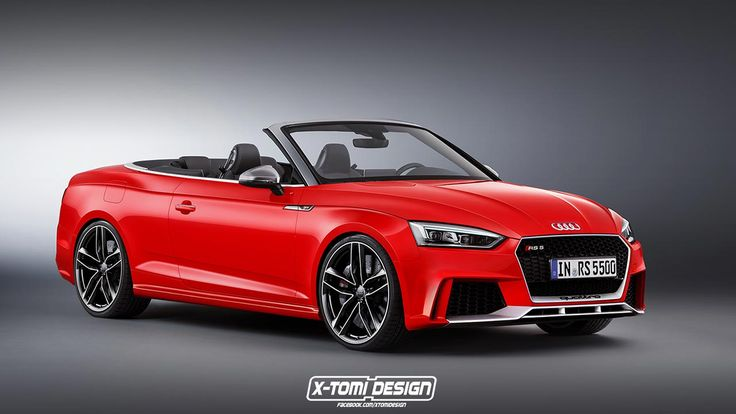 2018 Audi RS5 Cabriolet rendered for your pleasure
