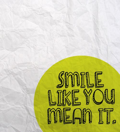 """Smile Like You Mean It,"" The Killers lyrics love this song!!!"