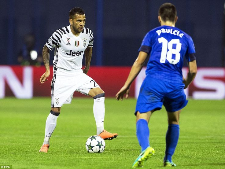 Dani Alves put the icing on the cake for Juventus when his deflected free-kick beat Adrian Semper in the Dinamo Zagreb goal