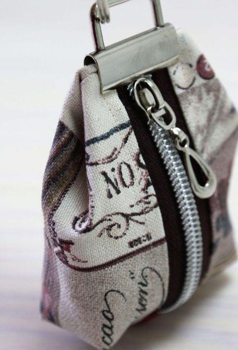 Aufnähen einer kleinen Geldbörse: Einfache Anleitung ohne Muster   – nähen