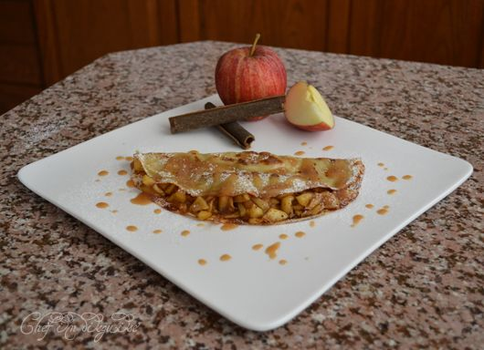 Nutella and Apple Cinnamon Crepe | Sweet Stuff | Pinterest