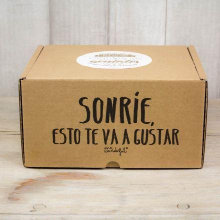 Una caja muy sencilla puede convertirse en unempaque muy original.