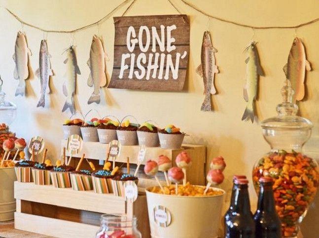 toddler fishing birthday party - Understanding Fishing Themed Party Ideas – Home Party Theme Ideas