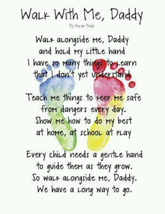 father's day poems...