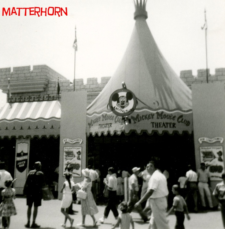 Mickey Mouse Club Theater, Disneyland