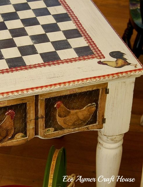628 best images about love roosters and chickens on for Chicken kitchen decorating ideas